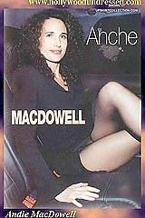 Andie macdowell upskirt