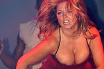Hot braless Geri Halliwell