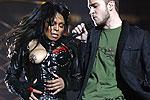 Janet Jackson dark nipple