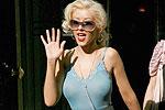 Christina Aguilera nips