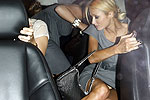 Paris Hilton candid panty