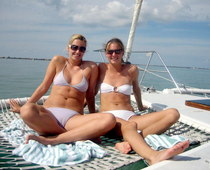 Cameltoe on yacht