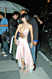 Bai Ling hot nude tit down blouse
