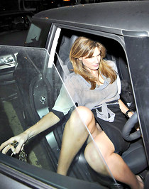 Jemima Khan hot celeb up skirt