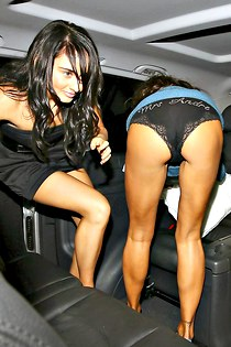 Katie Price bend over upskirt panty