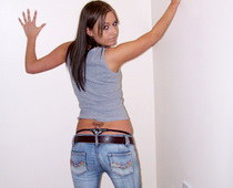 Cool jeans teen
