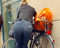 ass in jeans