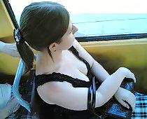 downblouse bus