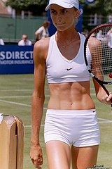 Upskirt Tennis stars