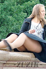 Blown upskirt videos